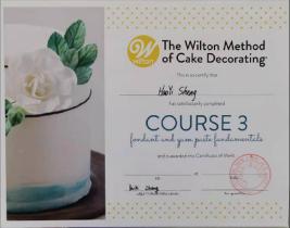 美国Wilton四个等级认定证书